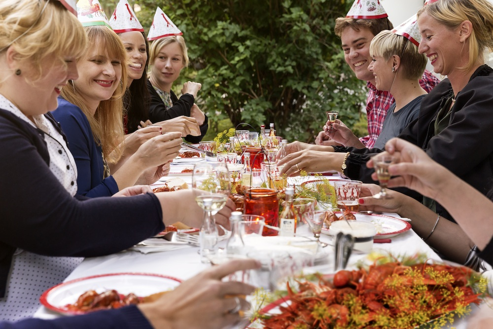 Crayfish party, Carolina Romare/imagebank.sweden.se